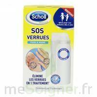 Scholl SOS Verrues traitement pieds et mains à St Médard En Jalles