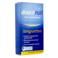 DOUCENUIT ANTIRONFLEMENT LANGUETTES, sachet 28 à St Médard En Jalles
