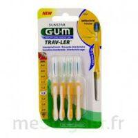 GUM TRAV - LER, 1,3 mm, manche jaune , blister 4 à St Médard En Jalles