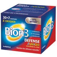 Bion 3 Défense Junior Comprimés à croquer framboise B/30+7 à St Médard En Jalles