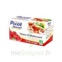 Picot Maman Tisane d'allaitement Fruits rouges 20 Sachets à St Médard En Jalles