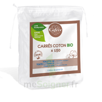 Gifrer Carré coton bio Sachet/150 à St Médard En Jalles