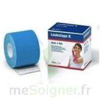 LEUKOTAPE K Sparadrap bleu 5cmx5m à St Médard En Jalles