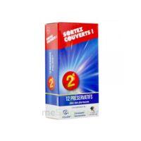 Sortez Couverts Préservatif lubrifié avec réservoir B/12 à St Médard En Jalles