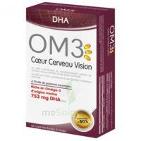 OM3 DHA Coeur Cerveau Vision Caps B/60 à St Médard En Jalles