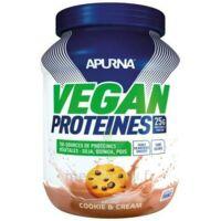 Apurna Vegan Proteines Poudre cookies & cream B/660g à St Médard En Jalles