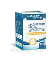 Nat&Form Expert Magnésium+Vitamine B6 Gélules B/40 à St Médard En Jalles